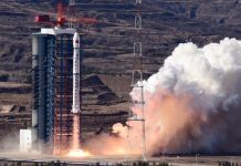 China launches Gaofen-7 satellite from the Satellite Launch Center.
