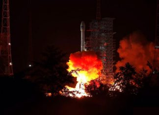 China has launched the Beidou-3I3 navigation satellite aboard a Long March 3B.