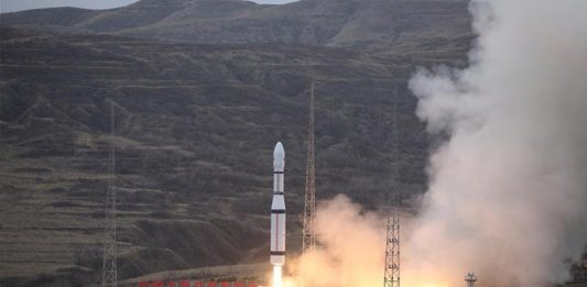China has successfully launched two orbital mission within three hours of one another.