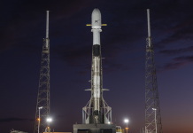 SpaceX launch a Falcon 9 rocket with the world's first flight-proven fairing.