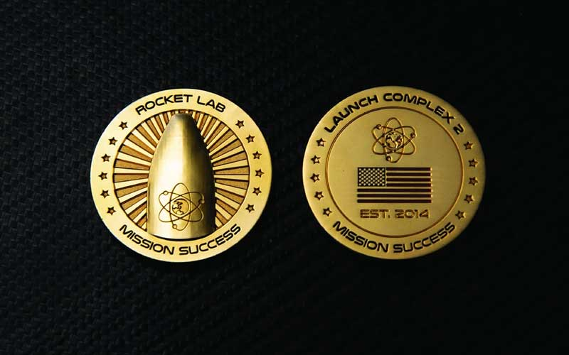 "Rocket Lab has added a $7,5 million Mission Success"" gold coin to its online store."