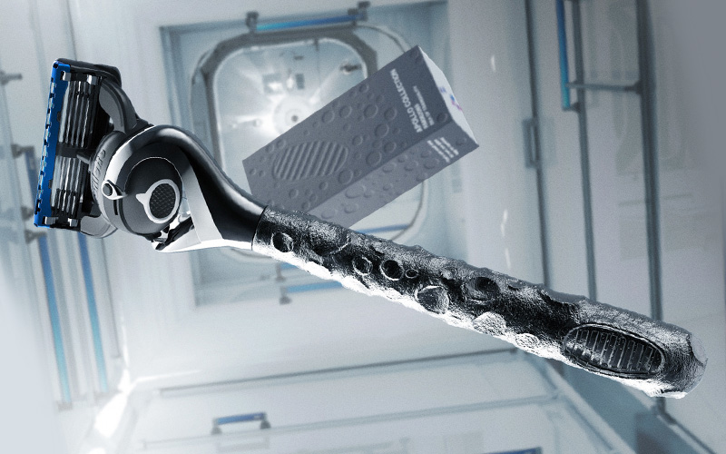 Gillette has released a new razor to commemorate the 50th anniversary of the Apollo 11 mission.