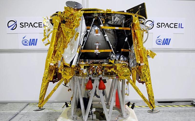 Beresheet lunar lander crash - the most important spaceflight moments of 2019.