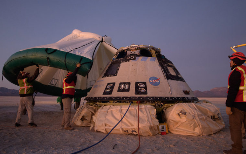 Boeing Starliner orbital test flight runs into trouble - the most important spaceflight moments of 2019.