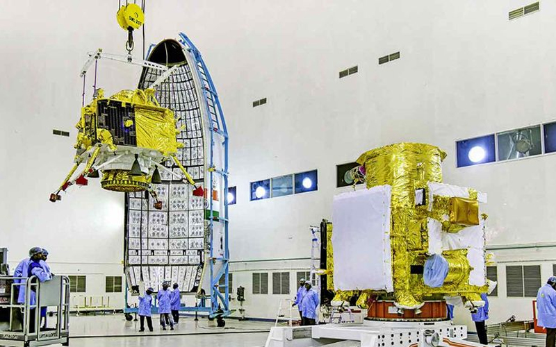 Chandrayaan-2 lunar lander crash - the most important spaceflight moments of 2019.