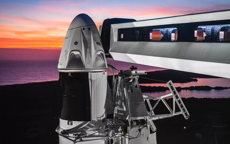 SpaceX Crew Dragon test flight - the most important spaceflight moments of 2019.