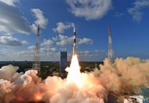 India has launched ten satellites aboard the 50th PSLV mission