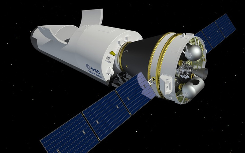 New ESA budget provides funding for reusable Space Rider Spacecraft.