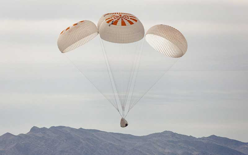 Successful Parachute Test Completes Crucial Crew Dragon Milestone - Rocket Rundown
