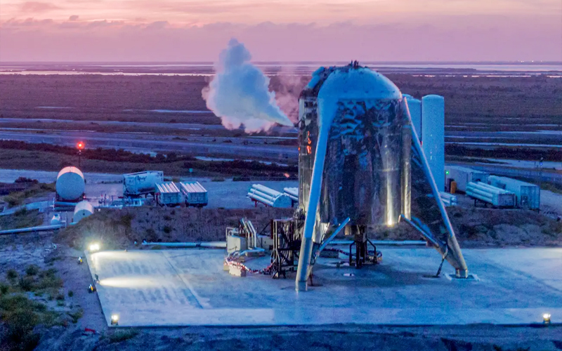 SpaceX StarHopper 150-meter hop flight - the most important spaceflight moments of 2019.