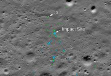The final resting place of the Vikram Moon lander was discovered by a 33-year-old amateur Shanmuga Subramanian.