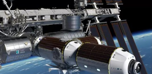 NASA awards Axiom Space a contract to construct a commercial ISS module.