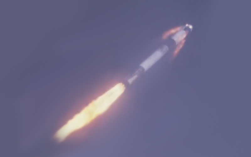 SpaceX has successfully completed an in-flight abort test of the Crew Dragon spacecraft.