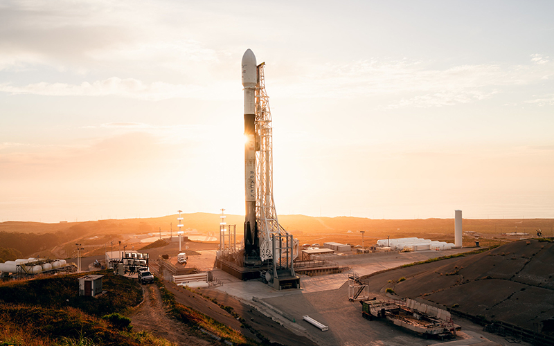 SpaceX has completed a Falcon 9 static fire test ahead of the first rocket launch of 2020.
