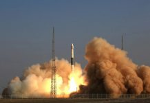 China has launched an experimental 5G communications satellite aboard a Kuaizhou 1A.