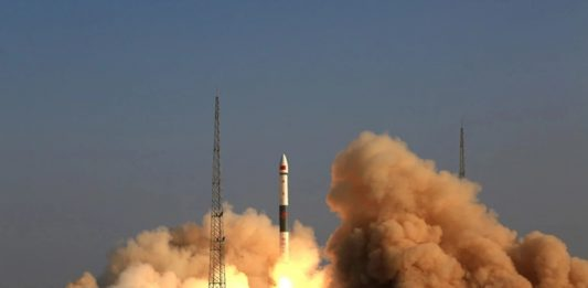 China has launched an experimental 5G communications satellite aboard a Kuaizhou 1A.