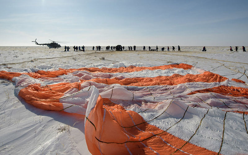 Christina Koch returns to Earth after 328 days in space - gallery 2.