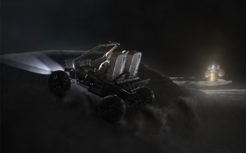 NASA has requested ideas from industry partners for the development of lunar rovers.