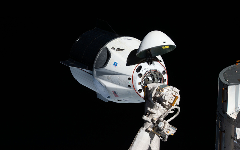 The first SpaceX Dragon capsule is taking its final flight