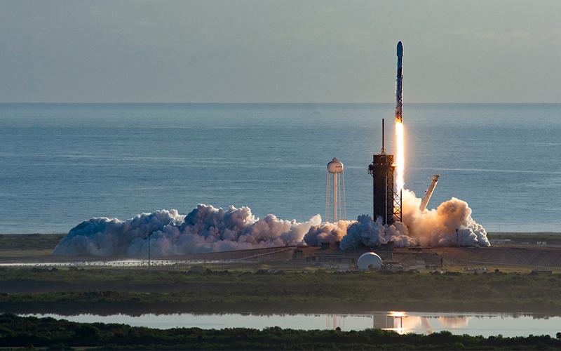 SpaceX launch 60 Starlink satellites despite engine failure.
