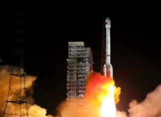 The maiden launch of China's Long March 7A has ended in failure.