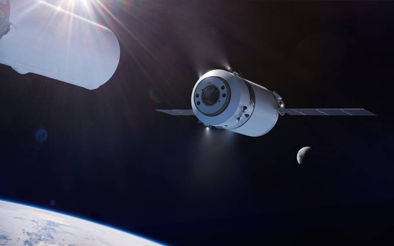 SpaceX unveiled the larger Dragon XL spacecraft.