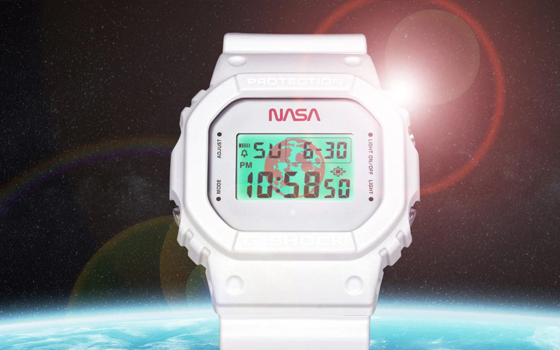 Casio has released a G-Shock paying homage to NASA.