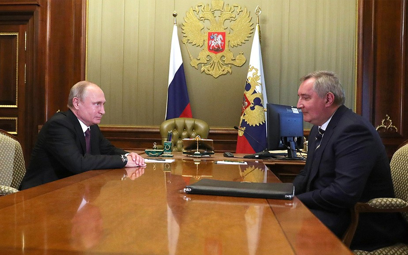 Head of Russia's Glavkosmos launch provider Dmitry Rogozin has accused US companies of dumping.