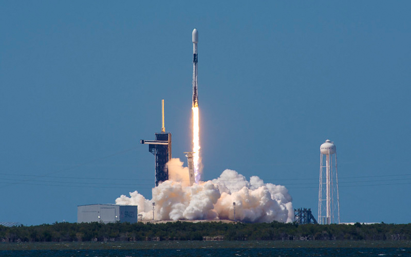 SpaceX successfully launch the 7th batch of 60 Starlink satellites.