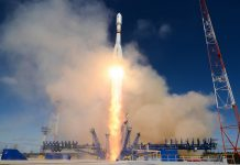 Russia launch EKS missile early warning satellite aboard Soyuz 2.1b from Plesetsk Cosmodrome.