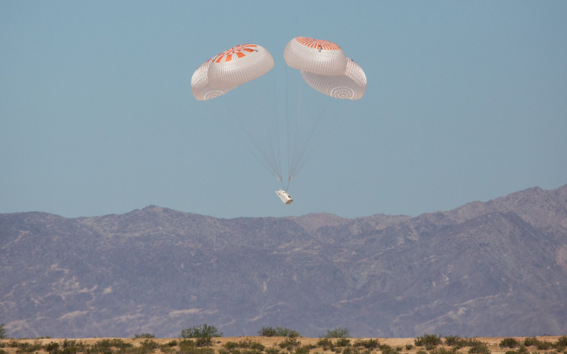 SpaceX has completed the 27th and final Crew Dragon Mark 3 parachute test.