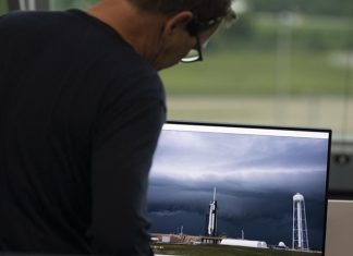 Bad weather scrubbed the launch of the historic NASA SpaceX Crew Dragon Demo-2 mission late yesterday.