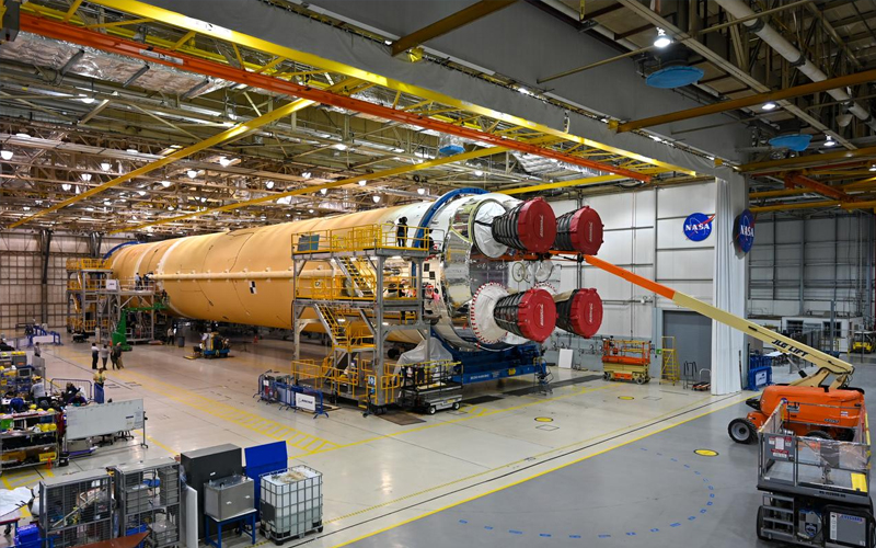 Maiden NASA SLS launch delayed until late 2021.