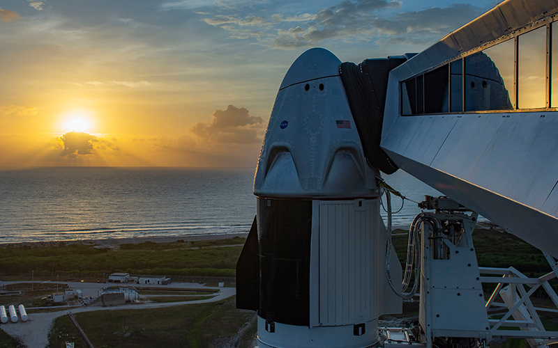 First operational NASA SpaceX Crew Dragon flight will be launched on August 30.