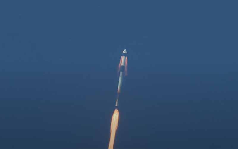 The NASA SpaceX Crew Dragon Demo-1 mission is launched on March 2, 2019.