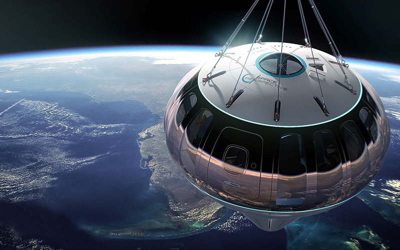 """Space Perspective to carry passengers to the """"edge of space"""" using a giant balloon."""