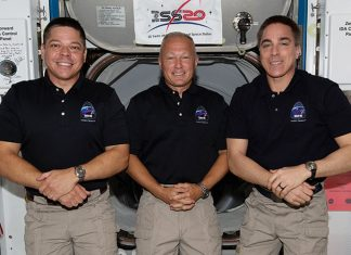 NASA SpaceX Demo-2 crew Doug Hurley and Bob Behnken to remain aboard ISS until August.