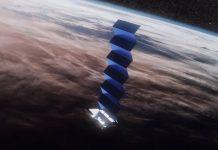 Images of prototype SpaceX Starlink user terminals have been captured in Merrillan.