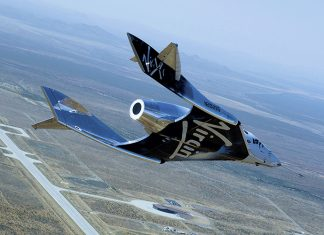 Virgin Galactic successfully complete a second SpaceShipTwo glide test from Spaceport America.