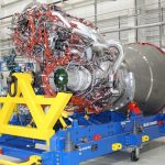 ULA has received the first Blue Origin BE-4 rocket engine.