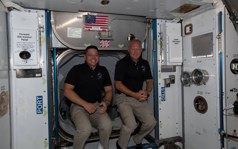 NASA SpaceX Demo-2 astronauts Bob Behnken and Doug Hurley will return to Earth on August 1