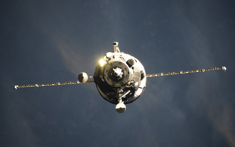 Russian Progress MS-15 spacecraft delivered 2.5 tons of cargo.