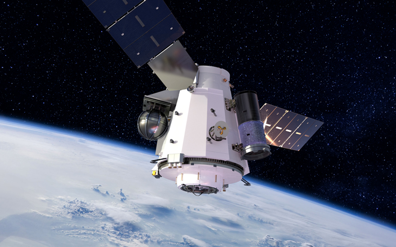 DOD selected Sierra Nevada Corporation to develop an unmanned orbital outpost.