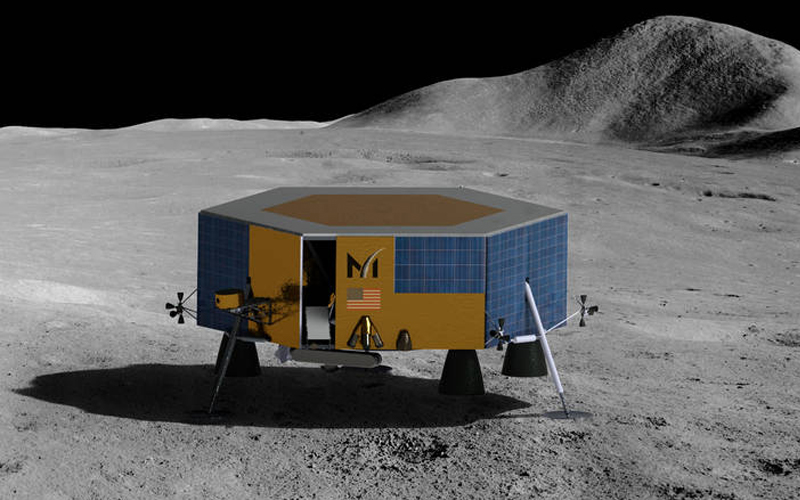 Masten Space Systems has selected SpaceX to launch XL-1 lunar lander.