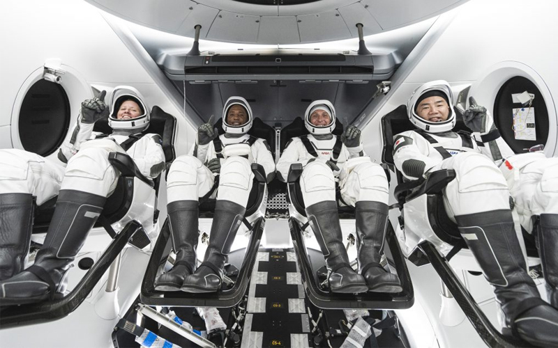 NASA announced the October 29 launch date for the SpaceX Crew-1 mission.