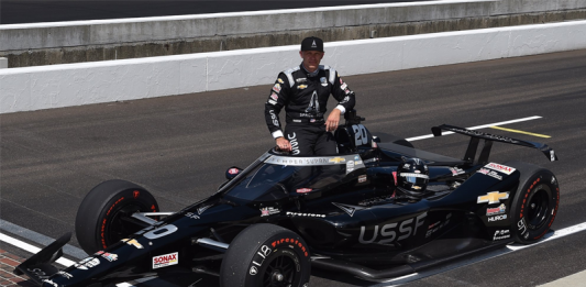 US Space on Indy 500 grid as principal sponsor of Ed Carpenter.
