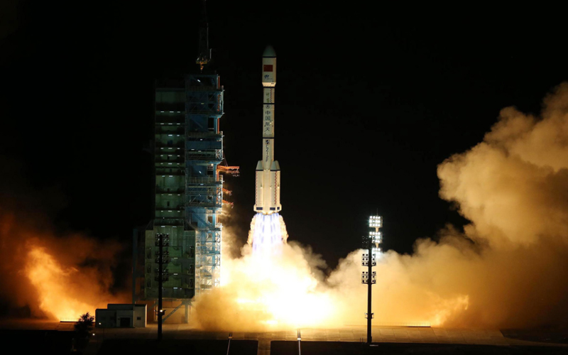 China has launched a secretive reusable experimental spacecraft.