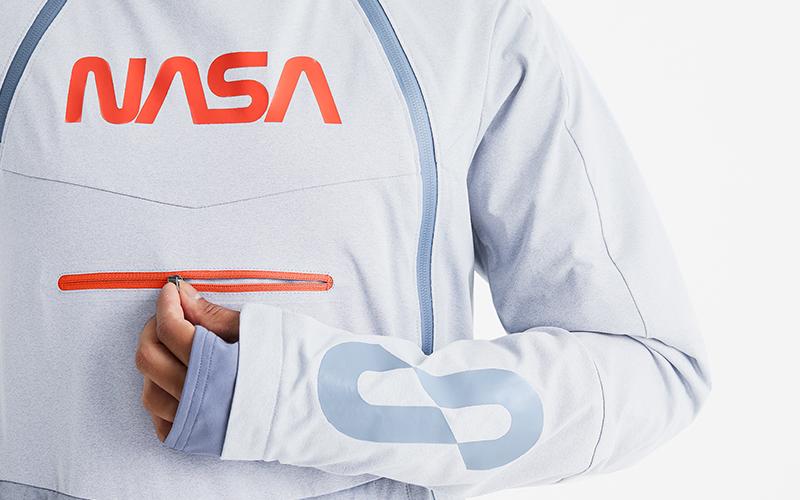 OROS NASA 39A Flight Jacket close up.