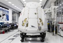 SpaceX ships a next-gen Cargo Drago spacecraft to Florida for an International Space Station resupply mission.