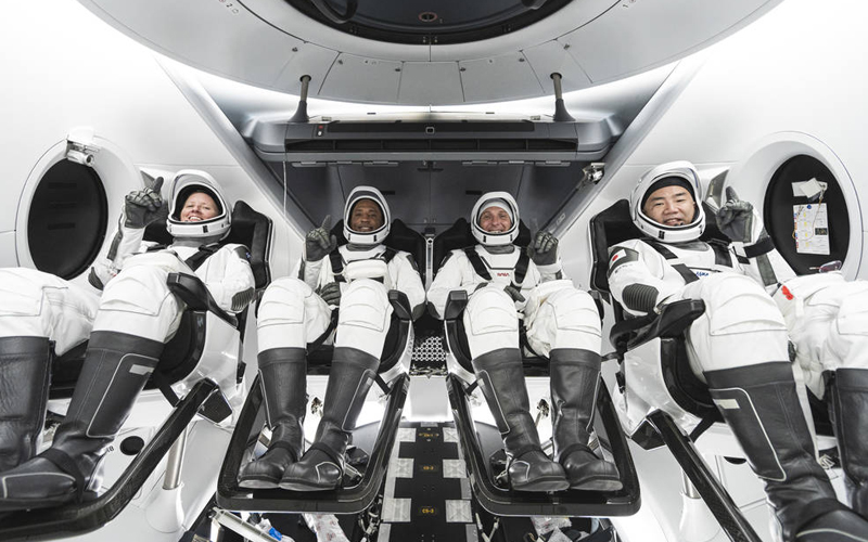 NASA announced a November 14 launch date for the launch of the  SpaceX Crew-1 mission.